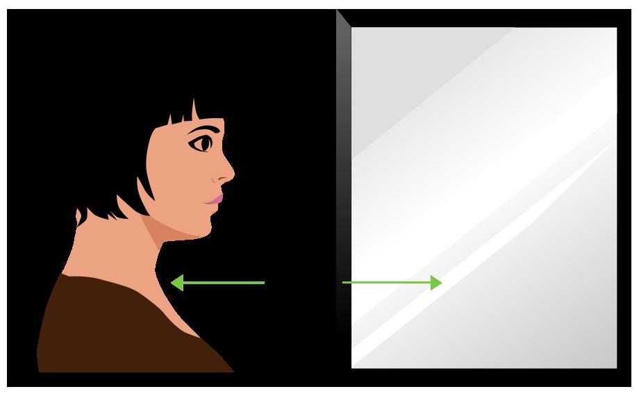 mirror-distance