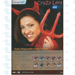 ColourVue Daily Crazy Lens | Cosmetic Lenses (Daily)