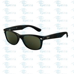 New Wayfarer - Black - Crystal Green | Col901