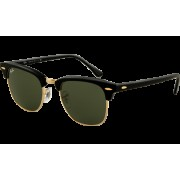 Clubmaster - Black - Crystal Green | ColW0365